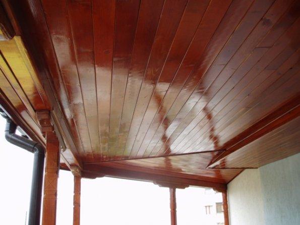 дървена тераса